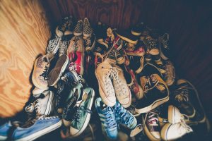 Declutter before packing your wardrobe