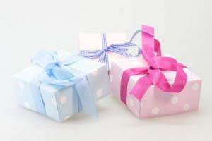 Three gifts.