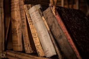 Damaged books - store your book collection properly and avoid this for happening.