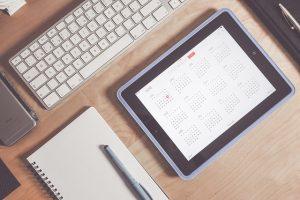 Calendar and agenda