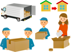 Movers and a moving truck that can help you with professional immigration to Canada