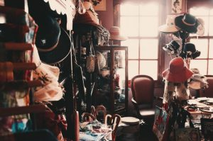 Messy room.