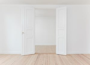 Picture of white walls that make your home feel brighter