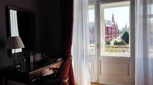 Picture of sheer curtains