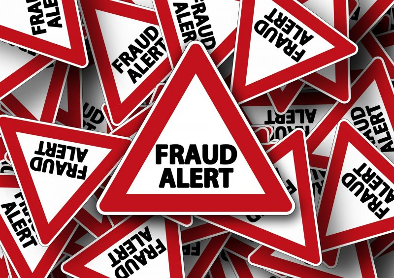 Avoid fraudulent moving companies signs