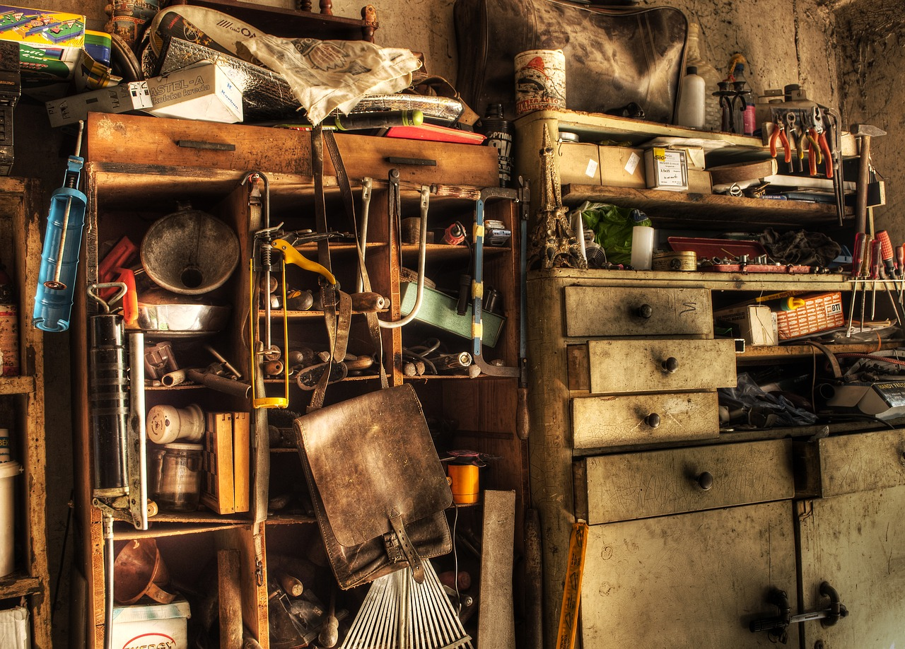 To turn your basement into a great living space you must preform some Decluttering