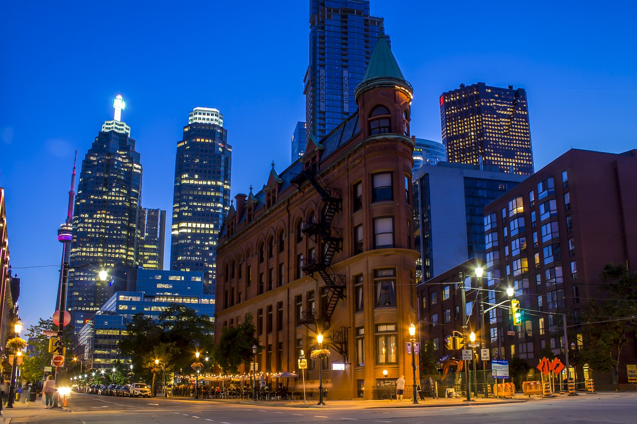 Picture of downtown Toronto
